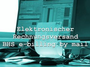 BHS Bremen e-billing by mail